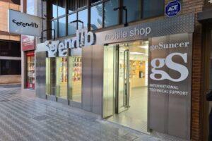 Reforma tienda telefonía y oficinas Gesuncer Vila-Real